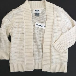 Old Navy Cream Cardigan